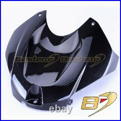 2014-2019 BMW S1000R 100% Carbon Fiber Front Fuel Gas Tank Cover Twill Weave