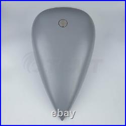Custom 5 Stretched 4.5 Gal. Gallons Fuel Gas Tank For Harley Custom Choppers