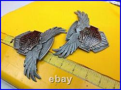 Genuine Harley 115th Anniversary Touring Softail Dyna Fuel Gas Tank Emblems