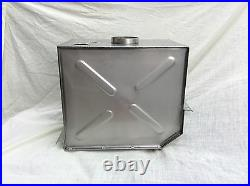 Landrover 80 series 1 one 1948 1953 fuel petrol tank, made in stainless steel