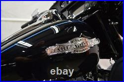 RARE! Awesome Harley Special Edition Peace Officer Gas Fuel Tank Emblems Set